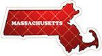 State of Massachusetts Magnets